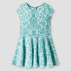 Toddler Girls' Knit Jacquard Dress Blue - Genuine Kids from Oshkosh™ : Target