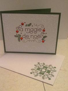 La magie de Noël Stampin Up!
