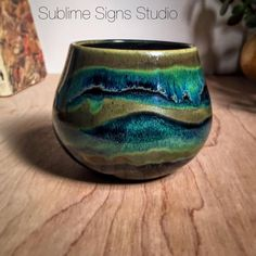 Stripes of Seaweed & Obsidian with a little overlap.