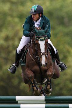 Pius Schwizer on his new horse