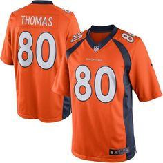 49b13e1fc Calvin Johnson jersey Julius Thomas Denver Broncos Nike Team Color Limited  Jersey - Orange A.