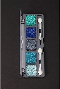nyx glitter cream palette- I need to figure out how I want to use this palette