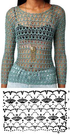 Замечательные узоры для летних моделей крючком - 45 вариантов для Вас | Вязание, рукоделие, хобби | Яндекс Дзен Pull Crochet, Mode Crochet, Crochet Diy, Crochet Woman, Crochet Amigurumi, Diy Crochet Cardigan, Crochet Shrug Pattern, Crochet Stitches, Crochet Sweaters