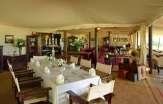 Cottar's 1920s Kenya Safari Camp - Luxury Interior Home Design