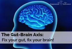 is the Gut-Brain Axis? The Gut-Brain Axis: Fix your gut, fix your brain!The Gut-Brain Axis: Fix your gut, fix your brain! Gut Brain, Brain Food, Brain Health, Gut Health, Health And Nutrition, Health Tips, Health And Wellness, Brain Stem, Ayurveda