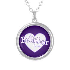 Belieber Forever Necklace - Justin Bieber
