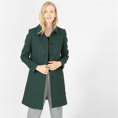 Pimkie.fr : On craque pour la couleur vert sapin du manteau drap de laine.
