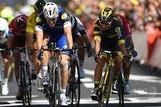 写真判定を制したキッテルが第4ステージ優勝、ツール・ド・フランス。 国際ニュース:AFPBB News #TDF2016 #rm_112