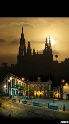 La noche en Arucas