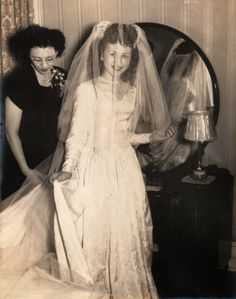 1940 wedding