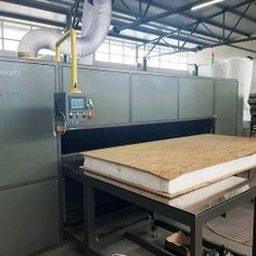 TWO COMPONENT PUR APPLICATOR FOR SANDWICH PANEL PRODUCTION Sips Panels, Making Machine