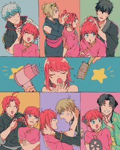 I love kags Me Anime, Manga Anime, Anime Art, Otaku, Anime Comics, Akuma No Mi, Gintama Wallpaper, Shingeki No Bahamut, Okikagu