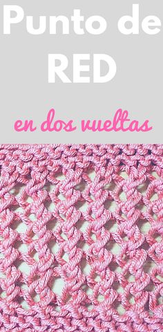 Punto de RED fácil tejido en dos agujas o palillos - Stickmönster - Strikkeoppskrifter - Hækle strikkeopskrifter Knitting Help, Knitting Videos, Lace Knitting, Knitting Socks, Knitting Stitches, Crochet Lace, Knitting Patterns, Diy Projects To Try, Sewing Tutorials