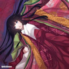 The Crimson Flower by Hachiretsu