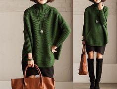 Sechs-Farben-Frauen Strickpullover von Fashion Lady auf DaWanda.com