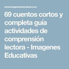 69 cuentos cortos y completa guía actividades de comprensión lectora - Imagenes Educativas