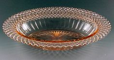 Miss America Reprise - Pink Depression Glass for Saturday