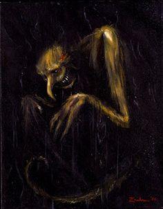 Outrageous Nightmare Art : Eduardo Diaz Bourgeot