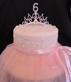 DIY Princess tutu cake!