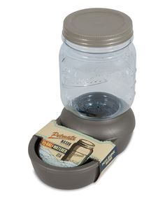 Take a look at this Petmate Mason Silver Replendish Pet Water Dispenser on zulily today!
