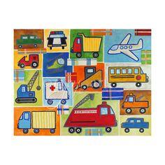 Custom Vehicle Art for Boys Room CUSTOM 20x16 Boys by nJoyArt