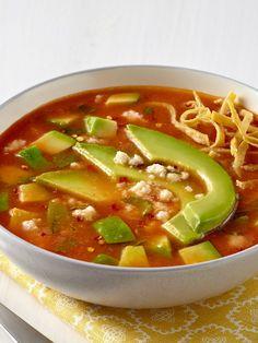Avocado and Tortilla Soup