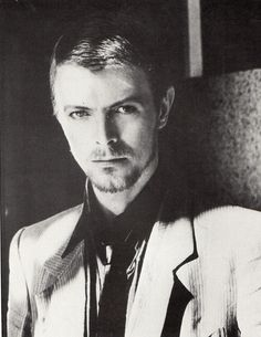 Bowie in Paris for Italian Vogue photo session
