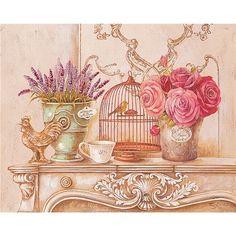 Stefania Ferri 50x40cm Cotton Canvas Print - Country Still Life
