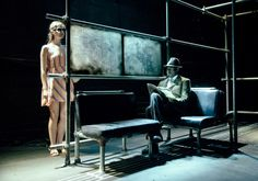 Dutchman. Bristol Old Vic Theatre School. Scenic design by Max Johns. 2014