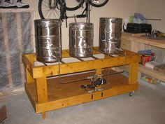 Wood Brew Stand Plans Pintwell Bad Larry Beer