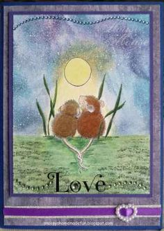 """""""Snoopy's HMFMC#187 Love Is In The Air 1"""" by Snoopy von Seckendorff on House-Mouse Designs®"""