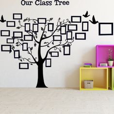 First Week of School Activities: Memorable Moments – Proud to be Primary Kindergarten Classroom Decor, Reggio Classroom, Classroom Walls, Classroom Design, Classroom Pictures, Class Pictures, School Hallway Decorations, Quotes About Children Learning, Class Tree