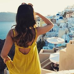 The amazing #Santorini! #View #AegeanSea Photo credits: @ennie_gjini