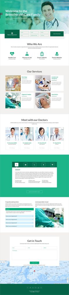 BrittoCare is a wonderful 2in1 responsive HTML5 #bootstrap template for #Medical, Health center, Dentists or #pharmacies websites download now➩ https://themeforest.net/item/brittocare-responsive-medical-and-healthcare-template/19380568?ref=Datasata