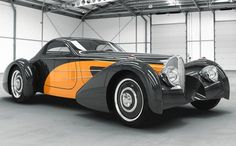 "american kit cars | Delahaye USA to debut ""Bella Figura"" Bugnotti Coupe at Pebble Beach ..."