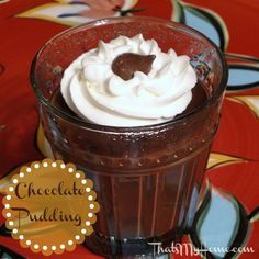 Warm Chocolate Pudding - Recipes, Food and Cooking