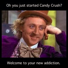 "It's such a ""saga""! #candycrush #addicted #game"