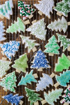 Sugar cookies are the classic holiday treat --- decorate them with your own homemade colored sugars!