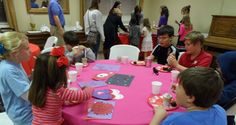 """The annual """"Jesus, the Greatest Gift of All"""" celebration on Valentine's Day is always a great hit with the kids of Jessie's Place."""