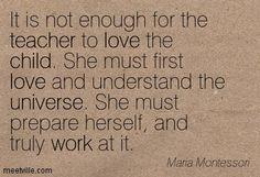 Maria montesso... Maria Montessori Peace Quotes ...