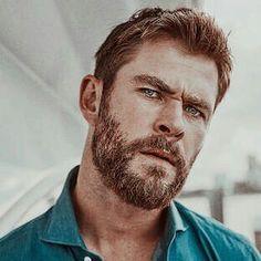 Family Genes, Hemsworth Brothers, Butches, Man Candy, Chris Hemsworth, Beards, Eye, Celebrities, Craft