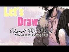 Let's Draw: Final Fantasy VIII #FinalFantasyVIII #FinalFantasy