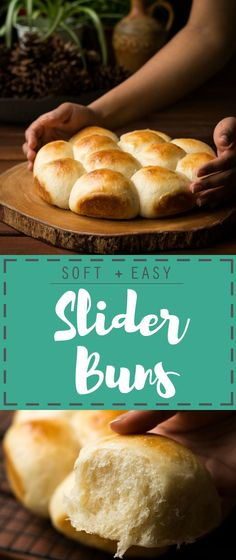 These pillow-like Mini Slider buns are not only easy to make at home, they're also quite versatile to be paired with a variety of fillings!