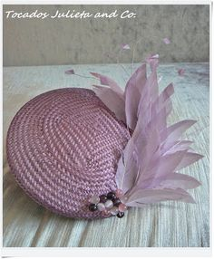 tocado malva empolvado Sombreros Fascinator, Fascinator Hats, Fascinators, Headpieces, Millinery Hats, Fancy Hats, Wedding Hats, Love Hat, Dress Hats