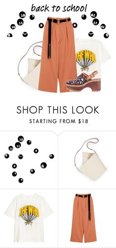 """""""back to school"""" by faye-valentine ❤ liked on Polyvore featuring Progetti and See by Chloé"""