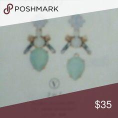 Flora Chandelier earrings 3  in 1chandeliers. Beautiful and versatile. Worn a few times. Stella & Dot Jewelry Earrings