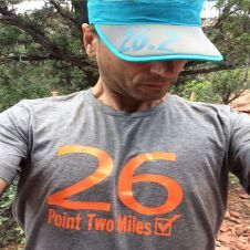 Marathon shirt for men's Use this ultra light weight and ultra soft tri-blend t-shirt on the run or after the run. These #running tees make the perfect gift for running man.