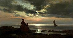 'La madre el hijo y el mar' Johan Christian Dahl