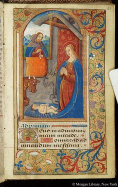 Book of Hours, MS W.6 fol. 61r - Images from Medieval and Renaissance Manuscripts - The Morgan Library & Museum