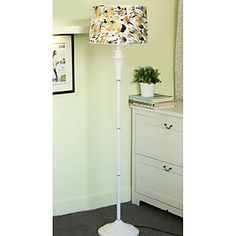 Europe-Styled Villatic Floor Lamp Patterned With Blossom – LightSuperDeal.com